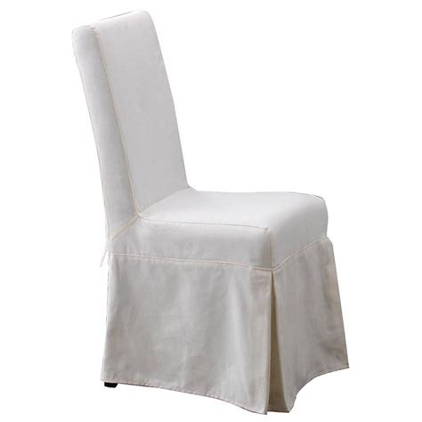 pacific dining chair sun bleached white slipcover