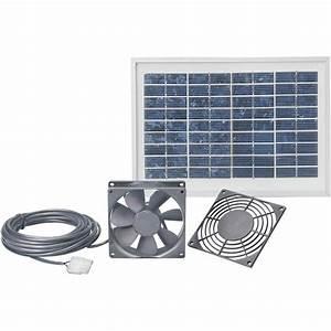 systeme de ventilation solaire esotec 103008 avec cable de With ventilateur solaire pour maison
