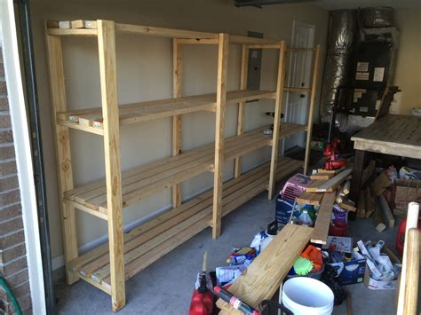 Garage Shelving Projects by White Great Shelving Easy To Do Diy Projects