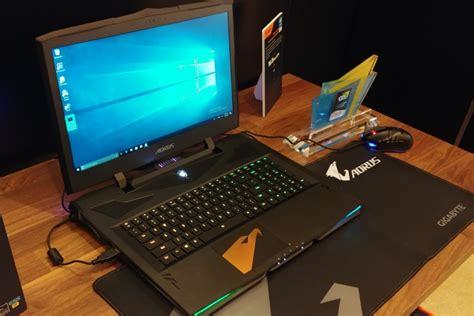 gigabyte  ces  aero   aorus  gaming laptops