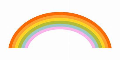 Rainbow Gify Wide Animated Gifs Transparent Motivation
