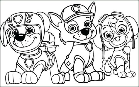 Paw Patrol Printable Coloring Pages at GetColorings com