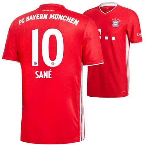 Visit the fc bayern store for everything you're searching for. Adidas FC Bayern München Heim Trikot SANÉ 2020/2021 ...