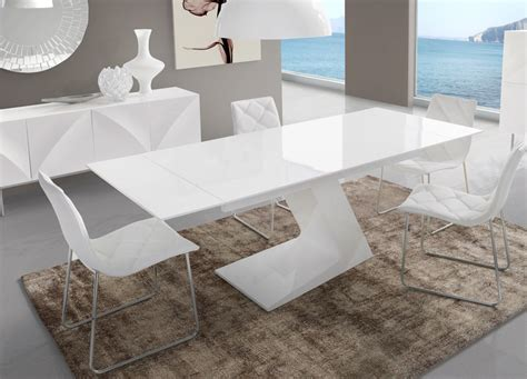 awesome table salle a manger blanche gallery awesome interior home satellite delight us