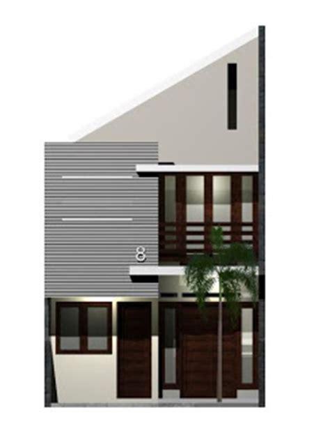 denah rumah minimalis  meter  lantai desain denah
