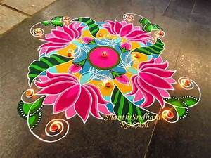 Beautiful Rangoli Designs Pictures to Pin on Pinterest ...