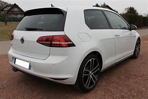 Golf 7 3 Portes : golf vii gtd bvm 3 portes blanc pur ~ Maxctalentgroup.com Avis de Voitures