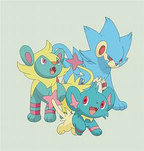 Adopted Shinx Evolution Totodile Evolution By Shadowmew
