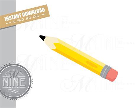 pencil clip art downloads vector pencil ai png jpg svg