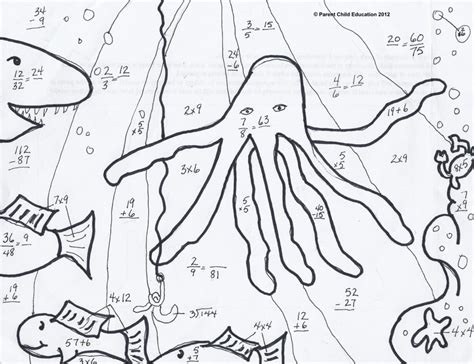 coloring pages free printable multiplication coloring