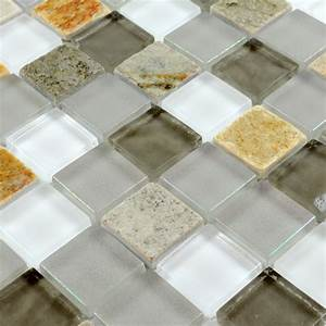 Stone, Glass, Mosaic, Tilessmoky, Mountain, Square, Tiles, With, Marble, Backsplash, Wall, Stickers, Floor, Tiles
