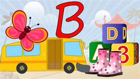 Learn About The Letter B