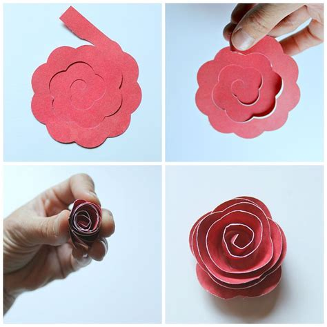 rolled paper flower shadowbox flower shadow box large
