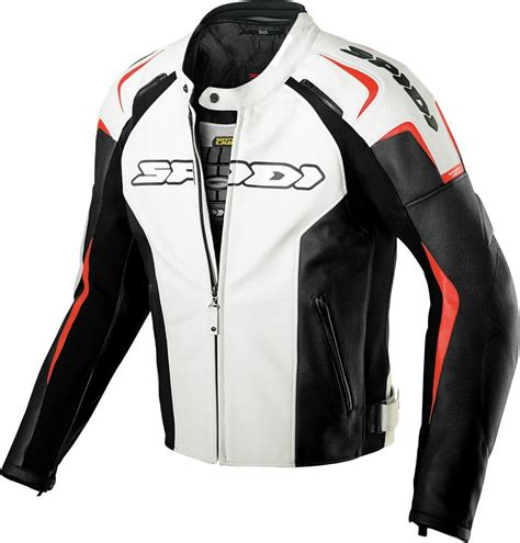 cheap motorbike clothing 429 09 spidi sport mens track leather jacket 218079