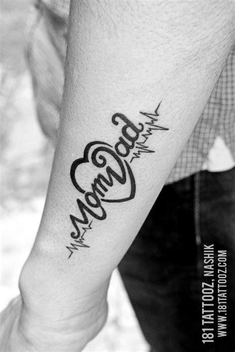 Mum And Dad Tattoos On Arm - Best Tattoo Ideas