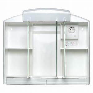 Spiegelschrank 3 Türig Mit Beleuchtung : jokey spiegelschrank rano 3 t rig kunststoff mit beleuchtung energieeffizienzklasse a bis b ~ Bigdaddyawards.com Haus und Dekorationen