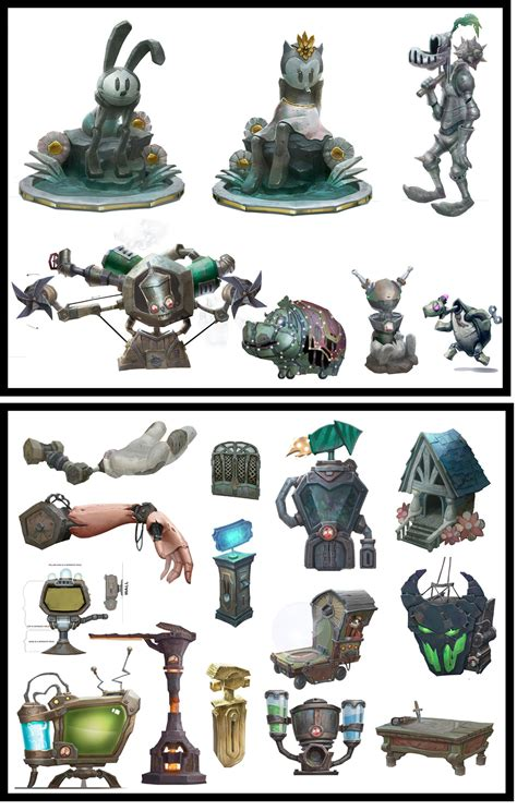 1000 Images About The Art Of Epic Mickey 1 And 2 On