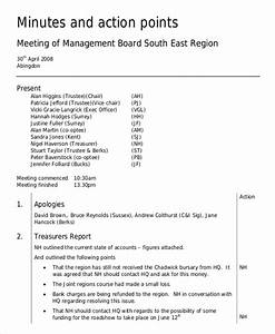 board minutes template 10 free word pdf documents With how to take minutes at a board meeting template