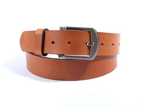 ceinture de chastete moderne ceinture cuir marron tannage vegetal largeur 35 mm boucle de qualit 233 4031