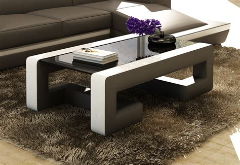 Collection by anton gerner furniture. Divani Casa EV45 Modern Bonded Leather Coffee Table - Coffee Tables - Living Room