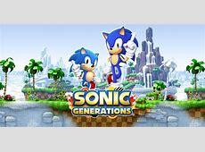 Sonic Generations Nintendo 3DS Games Nintendo