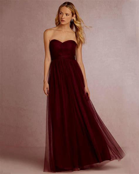 wine color bridesmaid dresses wine bridesmaid dresses naf dresses