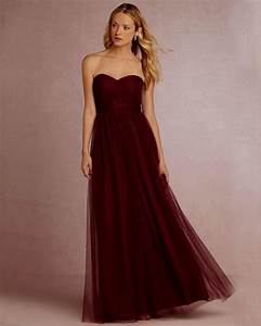 wine colored bridesmaid dresses csmeventscom With wine color dress for wedding