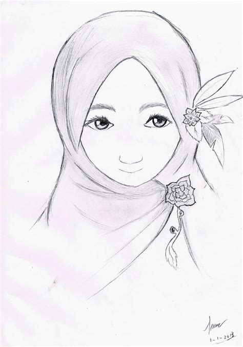 Gambar Anime Jepang Hijab Hijab By Raptorscyte On Deviantart