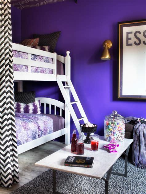 update  bunk bed  paint  drapery panels hgtv