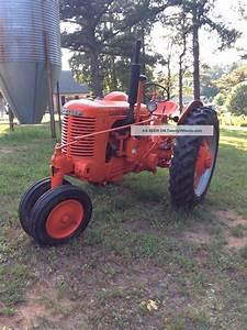 1952 Case Sc Antique Tractor