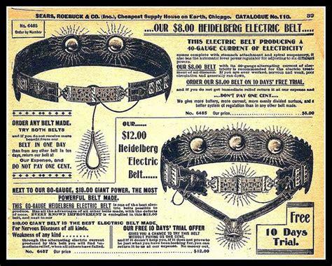 1900 SEARS CATALOG,QUACKERY, THE HEIDELBERG ELECTRIC BELT ...