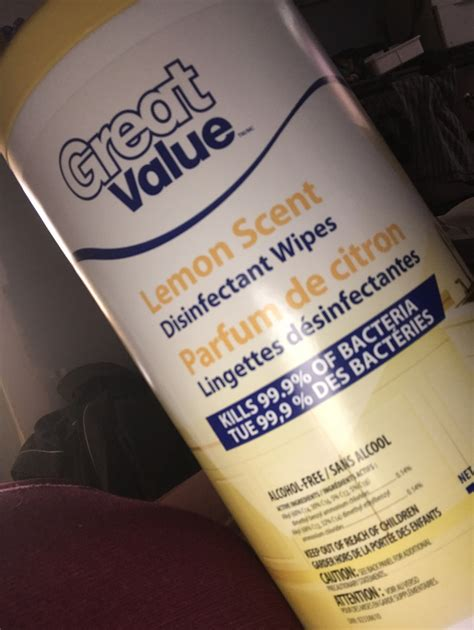 Great Value Disinfectant Wipes reviews in Cleaning Wipes
