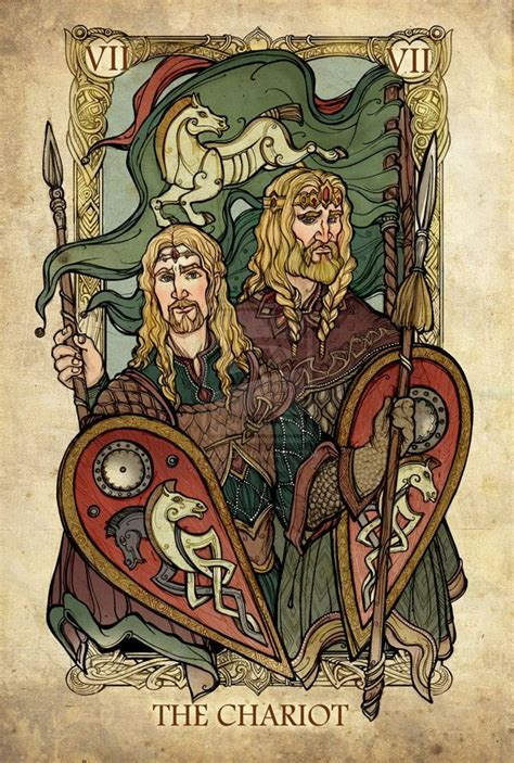 illustrated lord   rings themed tarot card deck