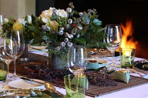 january table decorations christmas table decorations eucalyptus pods jingle bells