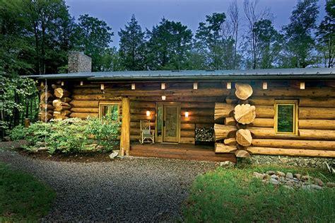 maison rondins de bois rustic meet modern