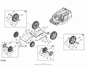 Dr Power Em6 3  Battery Powered Lawn Mower Parts Diagram For Wheels Neuton