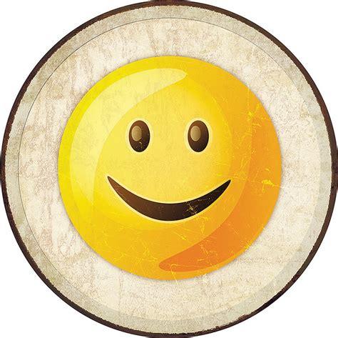 TSN2275 Tin Signs Smile Emoji Sign