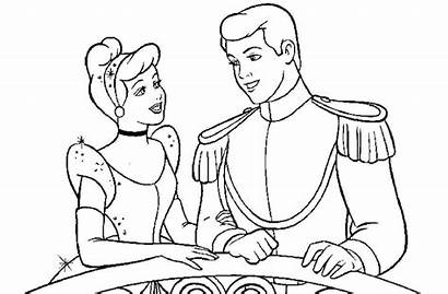 Cinderella Coloring Printable Worksheets Princess