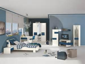 jugendzimmer bett jugendzimmer kinderzimmer mit bett 120 x 200 cm weiss blau woody 129 00058 ebay