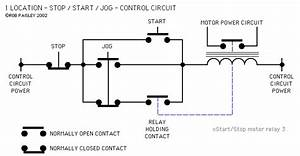 Push Button Motor Control Circuits