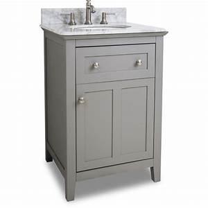 Jeffrey alexander van102 24 t grey chatham shaker for Bathroom vanities 24 inches wide