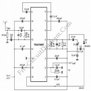Fm Radio Receiver For Battery Supply  U2013 Circuit Wiring Diagrams