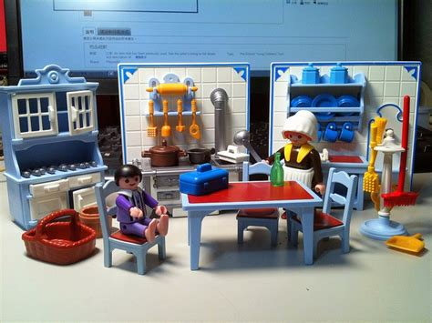 Cuisine Playmobil - playmobil kitchen was so proud of it