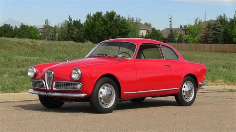1959 Alfa Romeo Giulietta  Information And Photos Momentcar