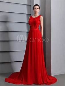 Red Prom Dresses 2018 Long Backless Evening Dress Lace ...