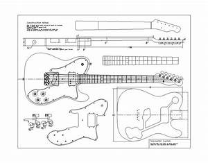 Planos Fender 72 Telecaster Custom