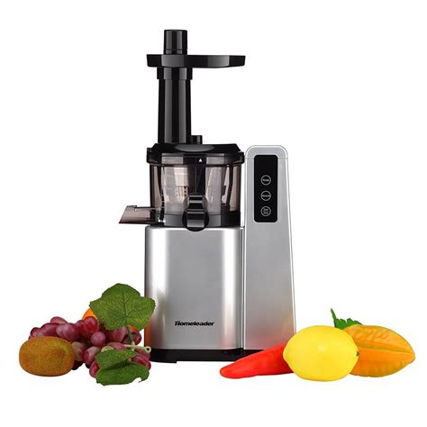 juicer masticating juice slow under extractor homeleader juicers cheap 120w silver amazon