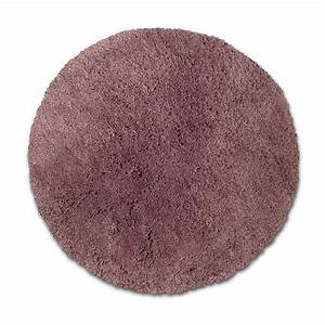 tapis violet shaggy agathe diam650 mm leroy merlin With tapis protege sol leroy merlin