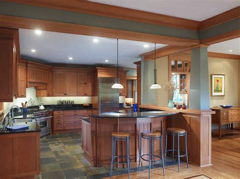arts  crafts craftsman kitchen dc metro  richard leggin architects