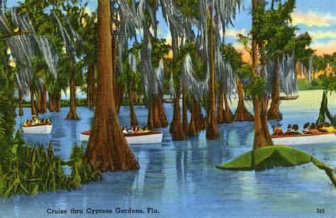 cypress gardens fl florida frontiers cypress gardens was florida s